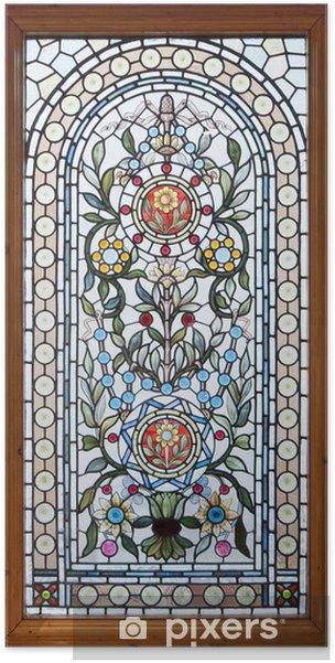 Poster Lood lood raam - Kunst en Creatie