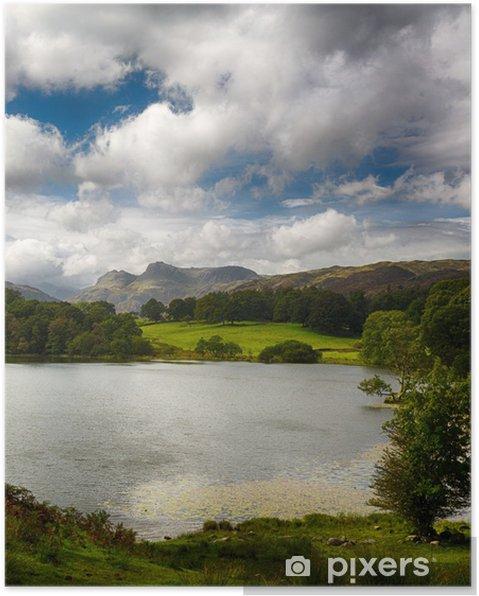 Poster Loughrigg Tarn à Lake District - Europe