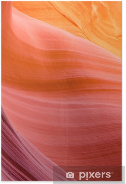 Poster Lower Antelope Canyon - Abstrait