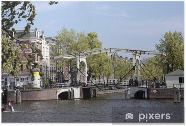 Poster Magere Brug 1, Amsterdam - Villes européennes