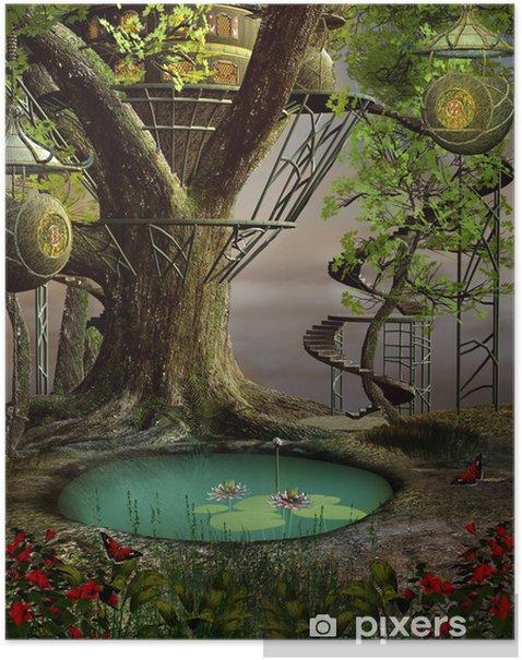 Poster Maison de l'arbre - Autres sentiments