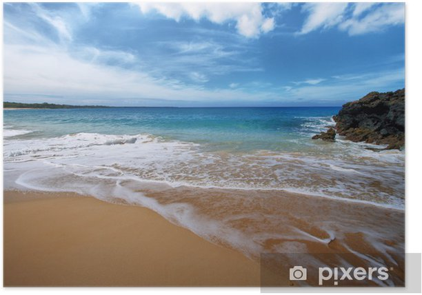 Makena Beach, in Maui, Hawaii Poster - Themes