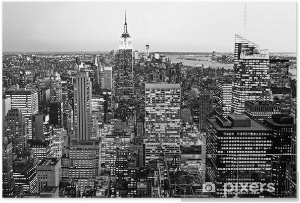 Póster Manhattan, New York City. EE.UU.. - Temas