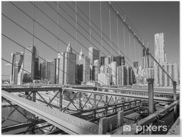 Póster Manhattan, New York City. EE.UU.. - Destinos