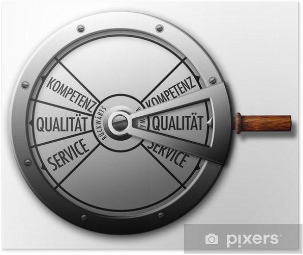 Poster Maschinentelegraph Qualität - Vente