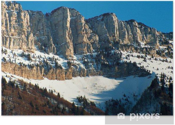 Poster Massif du Granier - Merveilles naturelles
