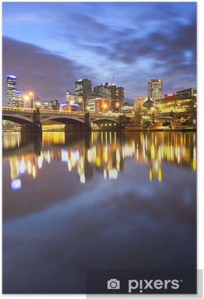 Melbourne Australia Poster - Themes