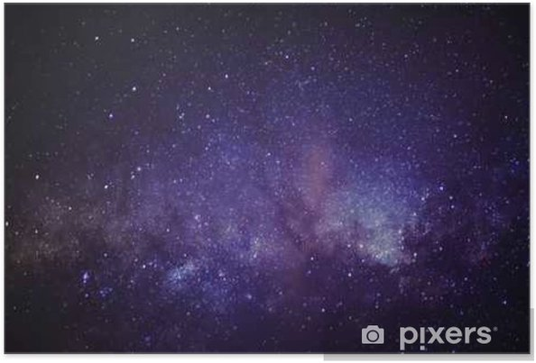 Poster Melkweg - Wetenschap