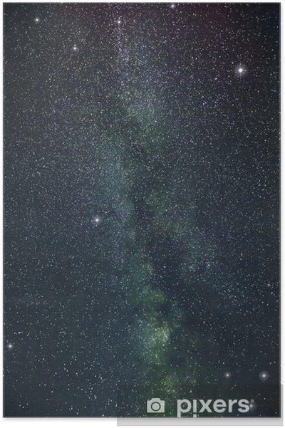 Poster Melkwegsterren - Ruimte