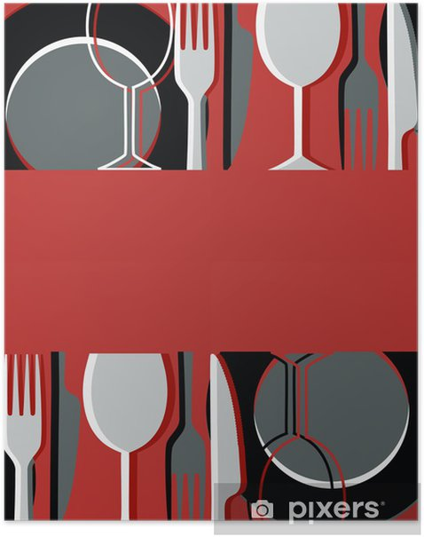 Menu or restaurant card Poster - Themes