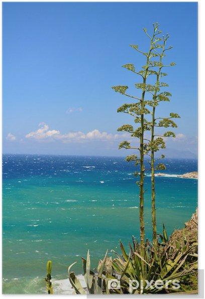 Poster Mer de Sicile - Europe