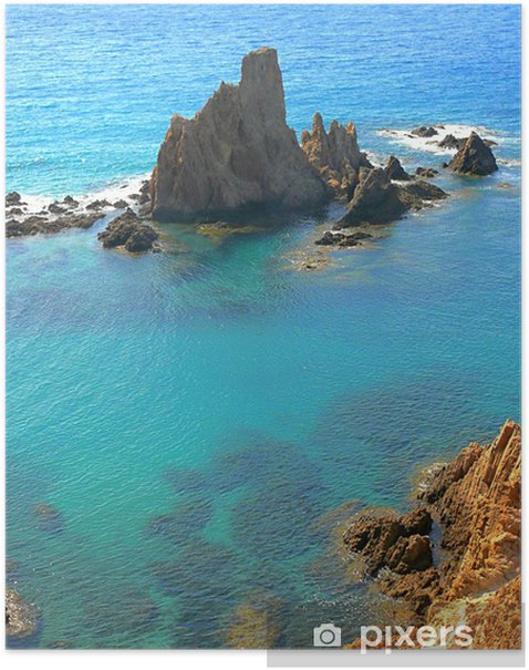 Poster Mermaid Reef à Cabo de Gata - Vacances