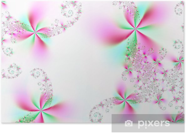 Poster Merveilleuses fleurs - Fleurs