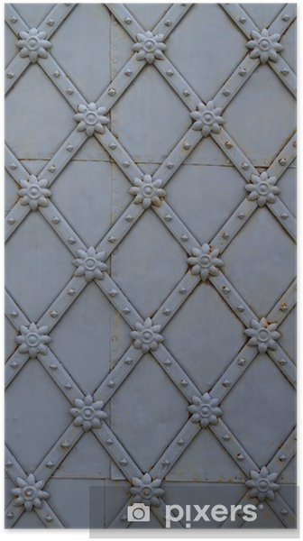 Poster Metal texture - Europe