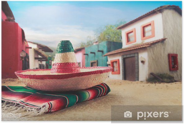 Póster Mexican hat