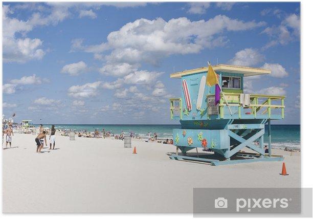 Miami South Beach Poster Holidays