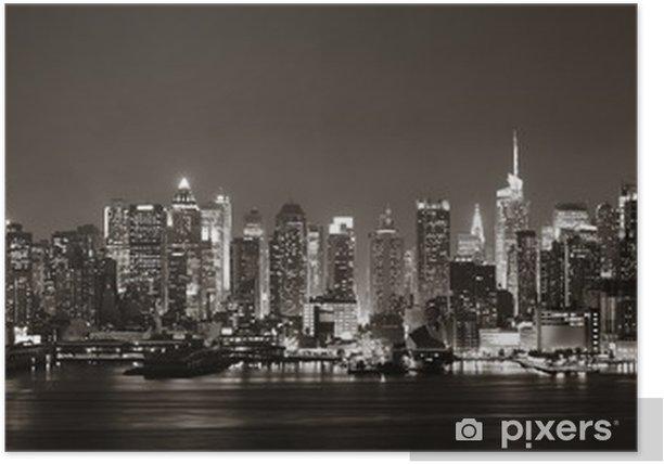 Midtown Manhattan skyline Poster -