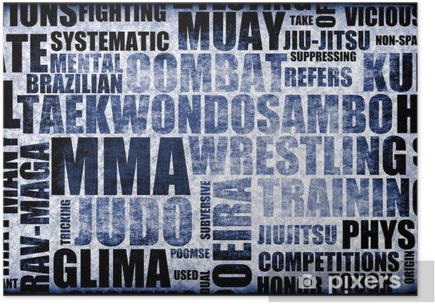 Poster Mixed Martial Arts - PI-31