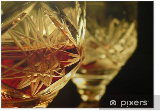 Poster Mon vin - Alcool