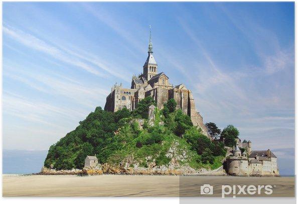 Poster Mont saint michel - Monuments
