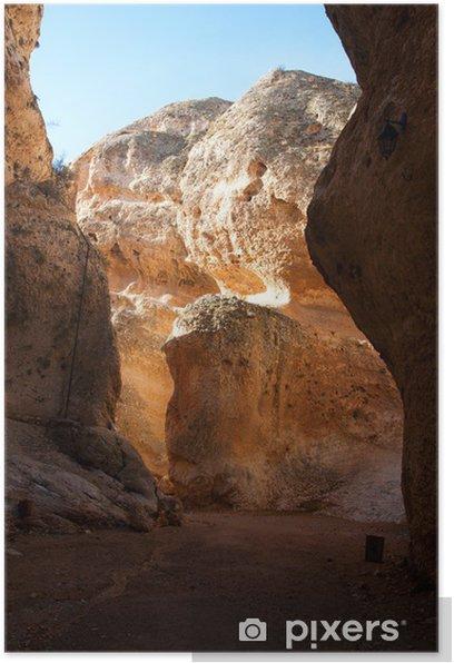 Poster Montagne de Maaloula - Moyen Orient