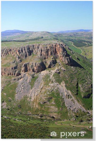 Póster Monte Nitai, Israel - Oriente Medio