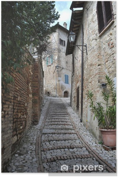 Poster Montefalco 5 - Paysages urbains