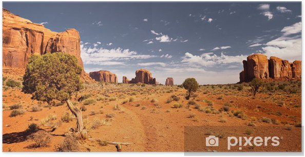 Poster Monument Valley 2 - Amerika