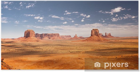 Poster Monument valley - Vacances