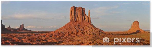 Poster Monument valley - Amérique