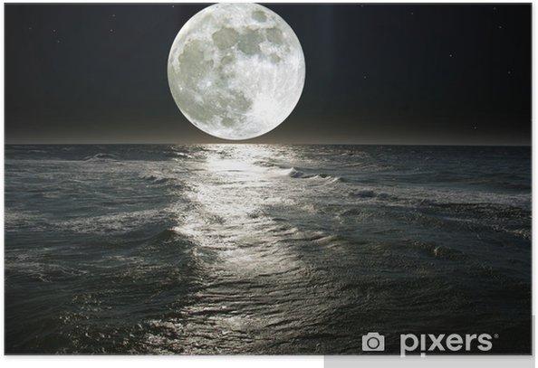 moon Poster - Destinations