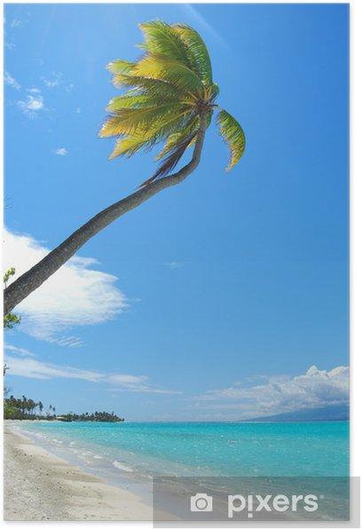Poster Moorea - Polynésie française - Océanie