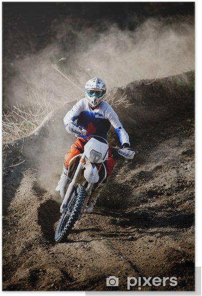 Poster Motocross - Extreme sport