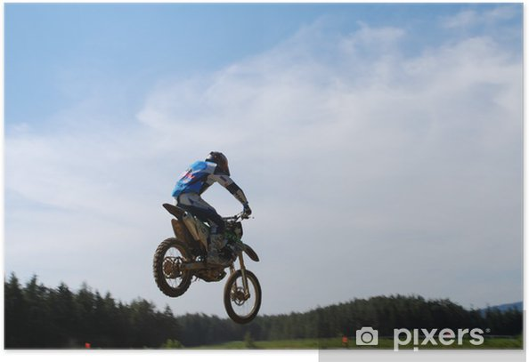 motocross010 Poster - Extreme Sports