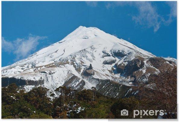 Poster Mount Egmont (Taranaki) - Merveilles naturelles