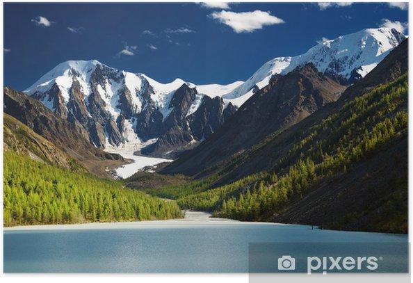 Mountain lake Poster - Mountains