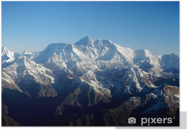 mt everest Poster - Themes