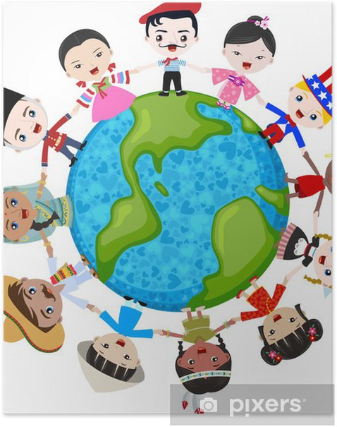 Multicultural Children On Planet Earth Cultural Diversity