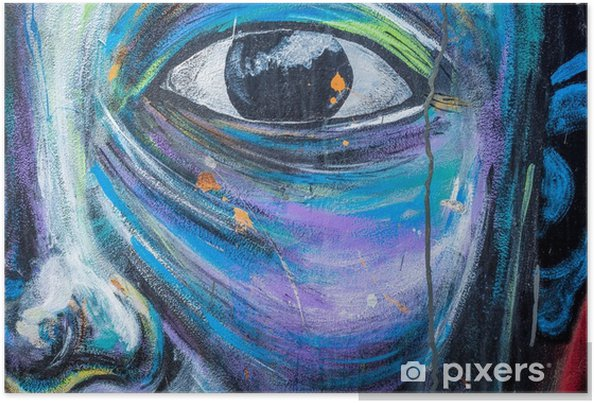 Poster Mur d'art de graffiti - Passe-temps et loisirs