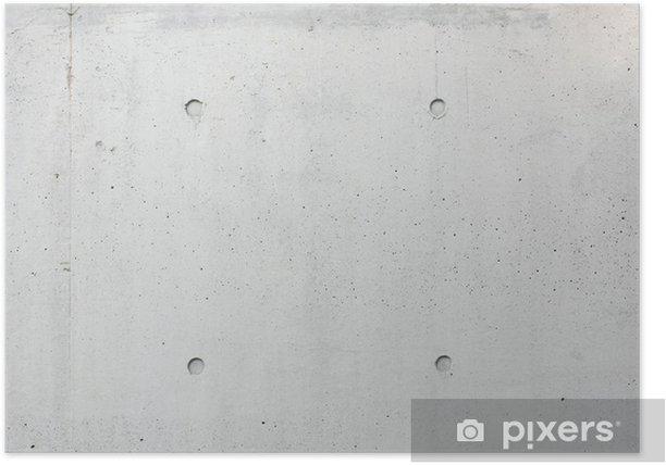 Poster Mur de béton - Thèmes