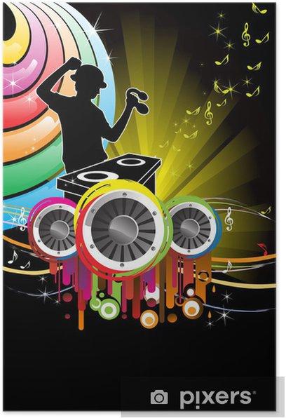 Poster Music dj - Arrière plans