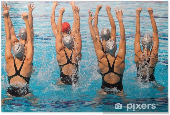Póster Nadadores sincronizados - Temas
