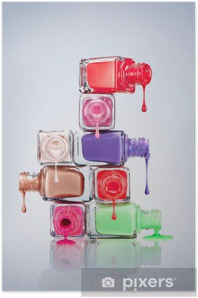 Poster Nail polish - Schoonheid en Lichaamsverzorging