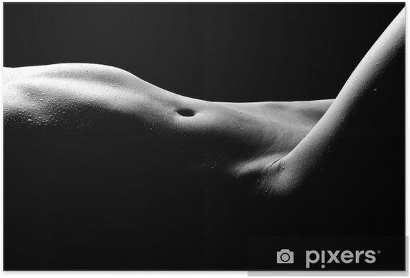 Poster Naken bodyscape Bilder av en kvinna - Teman