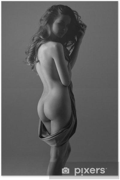 Poster Naken kvinna - Teman