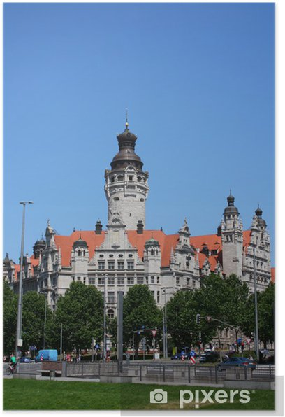 Neues Rathaus In Leipzig Poster Pixers We Live To Change