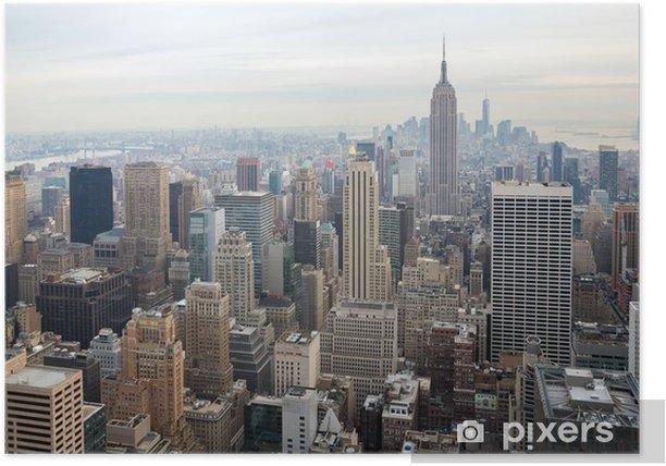 New York City skyline Poster - Themes