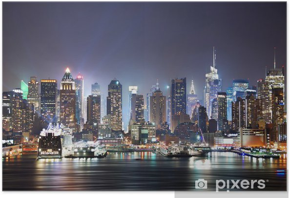 New York City Times Square Poster -