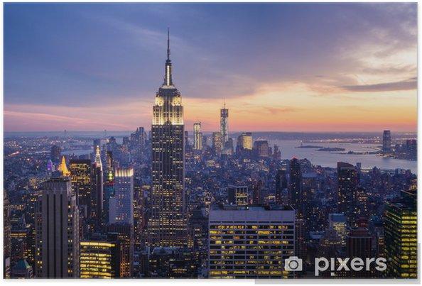 Póster New york city -