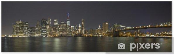 Poster New York Fira 4 juli - Teman